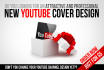 design proffesional new youtube channel design