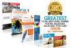 design a greatest flyer,brochure, banner, poster, billboard, rackcard, postcard
