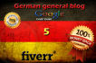 guest post your article on my GERMAN general blog PR5