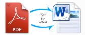 pdf to Word Conversion