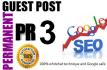 do guest post on PR3 DA40 general blog