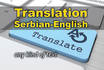 do English to Serbian and Serbian to English translation