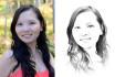 make your photo look like a portrait sketch