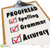 proofread and edit 1000 words for you