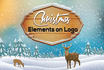 add Awesome CHRISTMAS Elements on your Logo