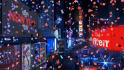 place your message or logo in Time Square New Year Event