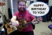 play and sing happy birthday on ukulele