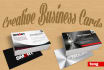 design you a SUPERB 2 sided business card