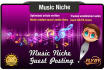write and Guest Post a MUSIC Niche Seo Optimised Article on a Music Site