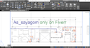draw your sketches in AutoCAD