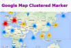 do cluster marker using google map