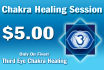 perform a Third Eye Chakra healing session on you