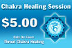 perform a Throat Chakra healing session on you