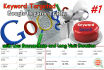 drive Keyword Targeted Traffic with low bounce rate and long duration