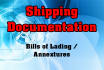 do any kind of shipping documents