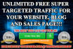 show how to get Millions of Targeted VISITORS to any link without spending money