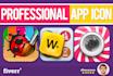 design eye catching app icon