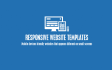 create a responsive website template