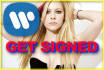 send your song or demo to Warner Bros Records