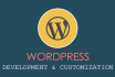 create and customize wordpress websites