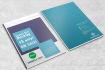 design 5 modern 3D magazine mockups in ULTRA high quality