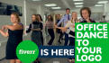 create on office DANCE advert to your business