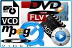 convert Video to avi, mpeg, vcd, dvd, wmv, asf, mp4 , 3gp