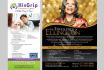 create marvelous flyer,brochures,infographics