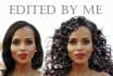 change hairstyle for you in Photoshop