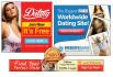 design attractive Dating Website banner