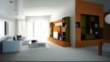 render and design an interior floor plan