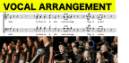 write the best vocal arrangement of any song