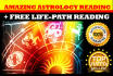 give an amazing astrology reading within 24 hours