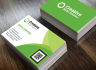 design this Modern double sided business card with QR Code