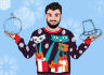 draw an ugly Christmas sweater turn into your photo