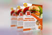 design awesome restaurant flyer