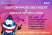 do deep seo audit and ONPAGE optimization for your site plus action plan