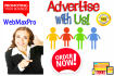 banner Advertising on 5 Daily Updated Websites 12 months
