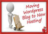 move, transfer wordpress blog to new hosting or domain
