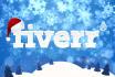 christmas logo makeover with santa