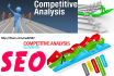 do SEO Competition Analysis of Top 10 websites