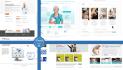 design a clean minimalist website or banner
