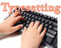 do typesetting and data entry works