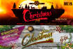 design CHRISTMAS or New Year Facebook Timeline Cover