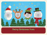 design a very merry Christmas card for you