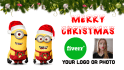 make Funny minions Christmas video