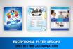 design Flyer, Brochure,Banner,Postcard,Business Card in 24hr