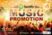 do viral Spotify music promotion for you as VERIFIED artist