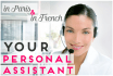 be your personal assistant in PARIS