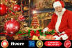 do best Christmas design using photoshop